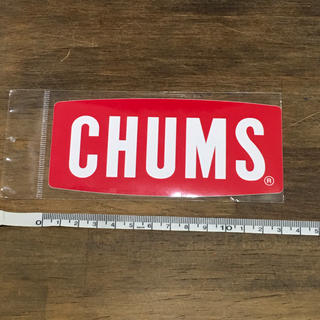 チャムス(CHUMS)の【新品】CHUMS ロゴステッカー 13cm(その他)