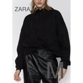 ザラ(ZARA)の【新品・未使用】ZARA カンガルー ポケット トップス(トレーナー/スウェット)