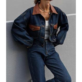 アリシアスタン(ALEXIA STAM)のACLENT denim jacket(Gジャン/デニムジャケット)