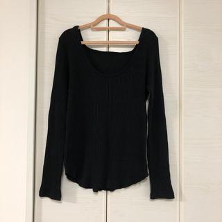 アンティローザ(Auntie Rosa)のHoliday♡バックシャン ロンT(Tシャツ(長袖/七分))