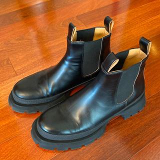 ジルサンダー(Jil Sander)のジルサンダー サイドゴアチャンキーソールブーツ 41(ブーツ)