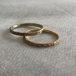 カオル(KAORU)のお値下げ⭐︎kaoru カオル リング 2本セットで。 k10 (リング(指輪))