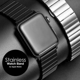 アップルウォッチ(Apple Watch)のApplewatch アップルウォッチ バンド ステンレス シルバー 38mm(金属ベルト)