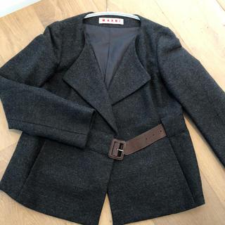 マルニ(Marni)のMARNIのジャケット(ノーカラージャケット)