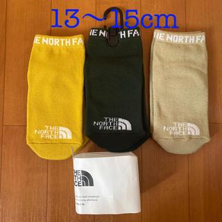 ザノースフェイス(THE NORTH FACE)のベビー 靴下 ソックス ノースフェイス 3足セット 13〜15cm(靴下/タイツ)