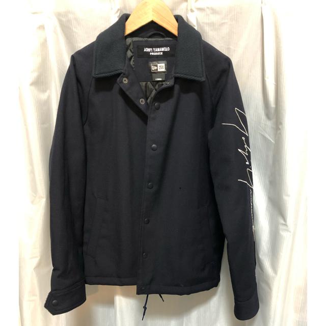 Yohji Yamamoto(ヨウジヤマモト)のヨウジヤマモト×ニューエラのコーチジャケット メンズのジャケット/アウター(カバーオール)の商品写真