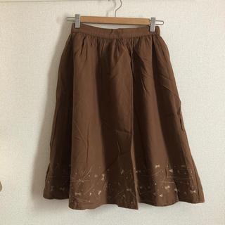 エヘカソポ(ehka sopo)のひざ丈スカート(ひざ丈スカート)