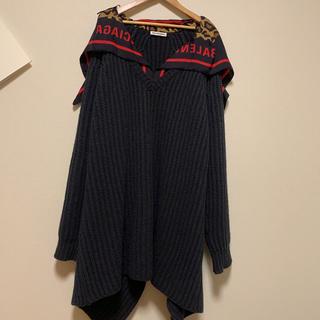 バレンシアガ(Balenciaga)の限定品BALENCIAGAバレンシアガ Vセーター ニットトップスCA00985(ニット/セーター)