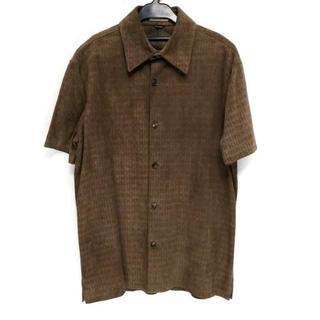 エルメス(Hermes)のエルメス 半袖シャツ サイズ48 L メンズ(シャツ)