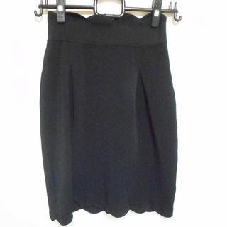 フェンディ(FENDI)のフェンディ スカート サイズ38 S美品  - 黒(その他)