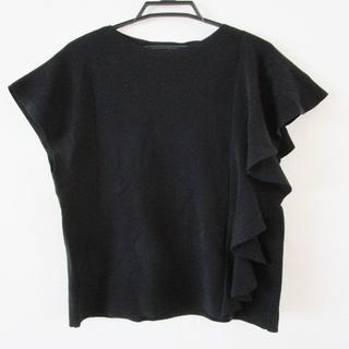 Drawer - ドゥロワー 半袖カットソー サイズ1 S - 黒