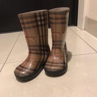 バーバリー(BURBERRY)のバーバリー レインブーツ(長靴/レインシューズ)