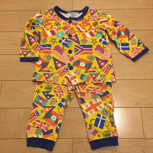 ampersand(アンパサンド)の729: アンパサンド  パジャマ 80 キッズ/ベビー/マタニティのベビー服(~85cm)(パジャマ)の商品写真