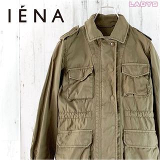 イエナ(IENA)のIENA ドローコード付きM-65ミリタリージャケット M サファリジャケット(ミリタリージャケット)