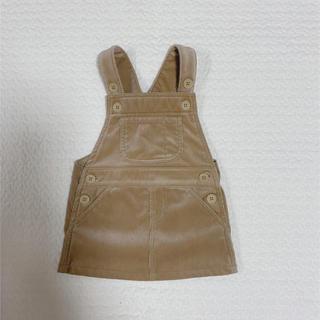 ムジルシリョウヒン(MUJI (無印良品))の無印良品 コーデュロイサロペットスカート(スカート)