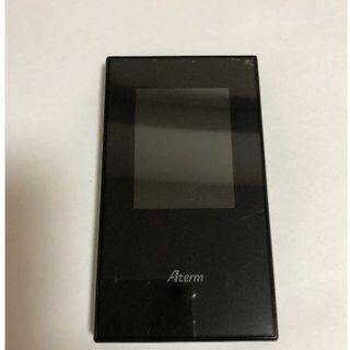 エヌイーシー(NEC)の美品 NEC Aterm MR04LN 3B モバイルルーター クレードル付属(PC周辺機器)