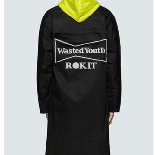 シュプリーム(Supreme)の【新品未使用】ROKIT × Wasted Youth トレンチコート(トレンチコート)