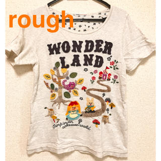 ラフ(rough)のrough ラフ Tシャツ 刺繍 半袖 保育着(Tシャツ(半袖/袖なし))