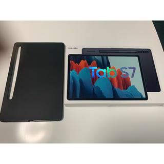 ギャラクシー(Galaxy)のSamsung Galaxy Tab S7 WiFi +ガラスフィルム+ケース(タブレット)