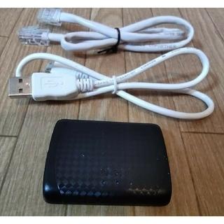 エヌイーシー(NEC)のAtern-W300P Wi-Fiルーター Wi-Fiポケットルーター (PC周辺機器)