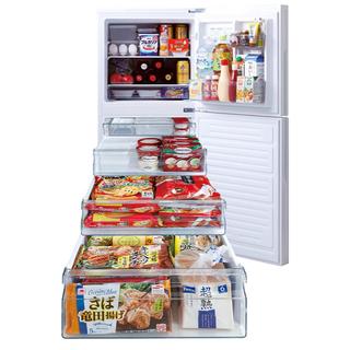 ツインバード(TWINBIRD)の即決限定 大容量冷凍室が自慢の冷蔵庫(冷蔵庫)