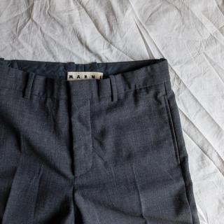 マルニ(Marni)のMARNI Virgin Wool Trousers(スラックス)