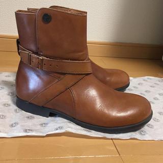 ビルケンシュトック(BIRKENSTOCK)の☆最終価格☆ ビルケンシュトック   ショートブーツ コリンズ  37 24(ブーツ)