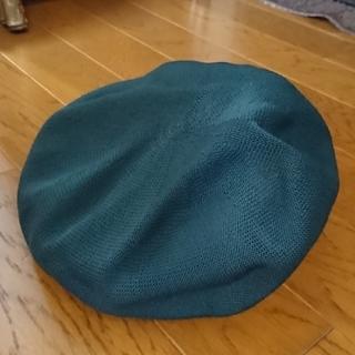 レプシィム(LEPSIM)のLEPSIM☆ベレー帽 ~青緑色~(ハンチング/ベレー帽)