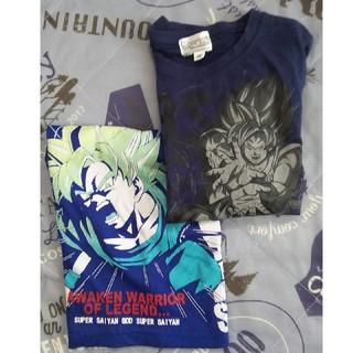 ドラゴンボール(ドラゴンボール)のドラゴンボール悟空キッズ洋服二枚セット(Tシャツ/カットソー)