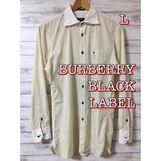 バーバリーブラックレーベル(BURBERRY BLACK LABEL)のBURBERRY BLACK LABEL  シャツ 【美品】(シャツ)