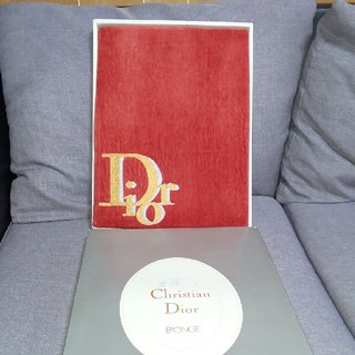 クリスチャンディオール(Christian Dior)のdior大判タオル(レア)(タオル/バス用品)