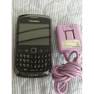エヌティティドコモ(NTTdocomo)のdocomo☆ BlackBerry 9300 ☆充電器付き(携帯電話本体)