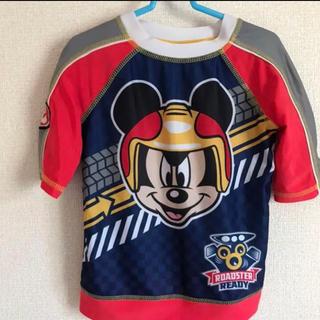ディズニー(Disney)のラッシュガード✳︎120半袖 ミッキー(水着)