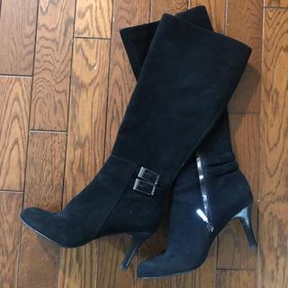 カルバンクライン(Calvin Klein)のカルバンクライン スエードロングブーツ(ブーツ)