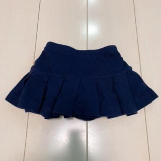ラルフローレン(Ralph Lauren)のラルフローレン、スカート、パンツ、ブルマ、ブルマ付きスカート、ネイビー、80(スカート)
