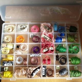 オリンパス(OLYMPUS)の刺繍糸 セット販売 DMC OLYMPUS(生地/糸)