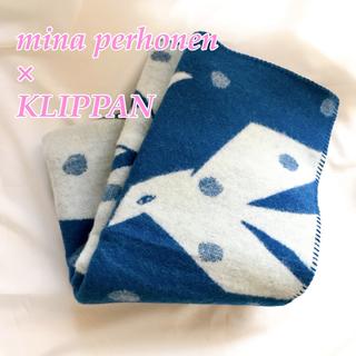 ミナペルホネン(mina perhonen)のあられ様用クリッパン×ミナ ペルホネンmina 鳥 ブランケット 毛布 ブルー (毛布)
