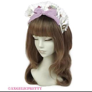 Angelic Pretty - Rose Tea Gardenカチューシャ