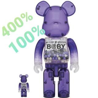 メディコムトイ(MEDICOM TOY)のMY FIRST BE@RBRICK B@BY MACAU 100%&400%(キャラクターグッズ)