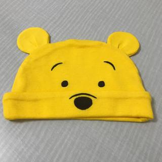 ユニクロ(UNIQLO)のベビー帽子 プーさん(帽子)