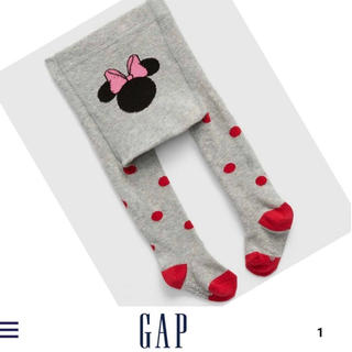 ベビーギャップ(babyGAP)の新品未使用 ギャップ gap ベビー タイツ ミニー(靴下/タイツ)