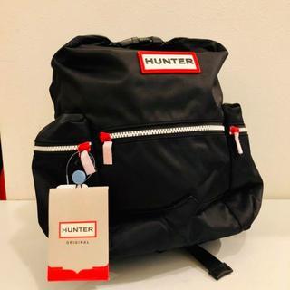 ハンター(HUNTER)のHUNTER ハンター オリジナル トップクリップ ミニバックパック ブラック(リュック/バックパック)