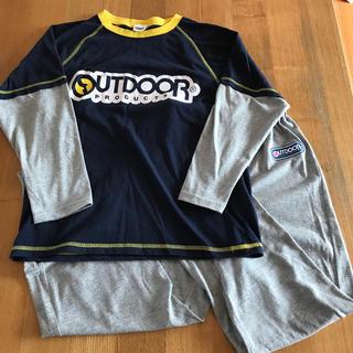 アウトドア(OUTDOOR)のパジャマ 150   男の子 長袖 薄手(パジャマ)