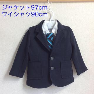 マザウェイズ(motherways)のマザウェイズ 97cm 男の子フォーマル 3点セット(b90-30)(ドレス/フォーマル)