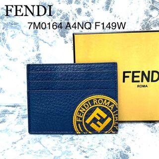 フェンディ(FENDI)の【未使用品】FENDI フェンディ カードケース パスケース ユニセックス(名刺入れ/定期入れ)