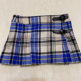 ボンポワン(Bonpoint)の新品タグ付き♡ボンポワンチェックミニスカート3a(スカート)