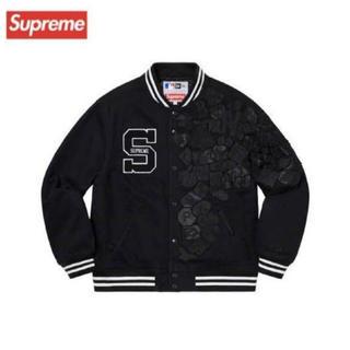 シュプリーム(Supreme)の付属完備 Supreme NewEra MLB Varsity Jacket L(スタジャン)