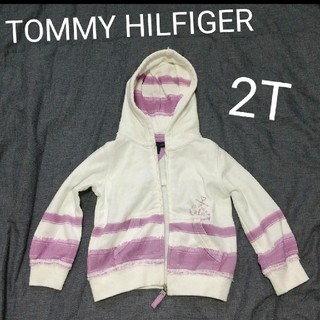 トミーヒルフィガー(TOMMY HILFIGER)のトミヒル キッズパーカー 2T(ジャケット/上着)