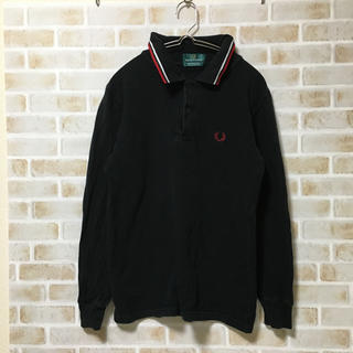 FRED PERRY - フレッドペリー FRED PERRY ワンポイントポロシャツ  英国製