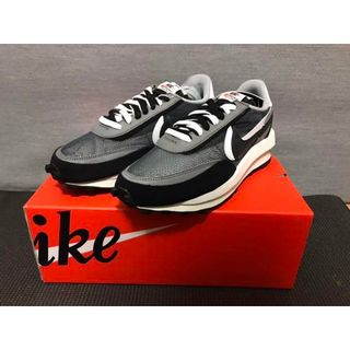 Nike LD Waffle sacai ブラック 24cm(スニーカー)